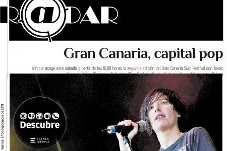 Gran Canaria, capital pop. La Provincia 27/09/2019